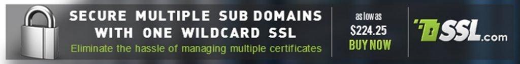 certificado ssl wildcard