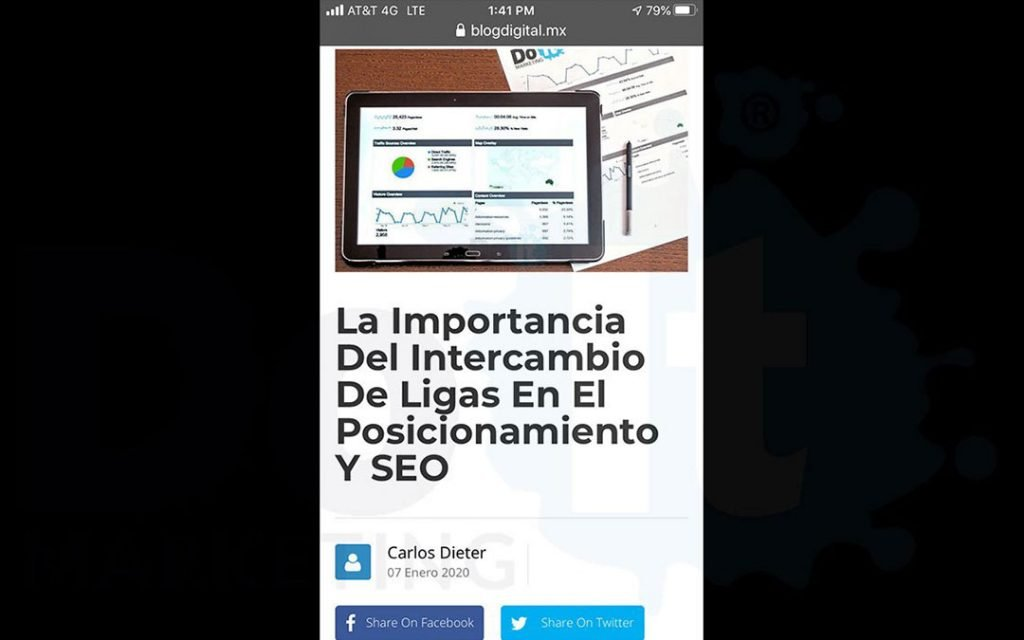 optimizacion sitios web móviles