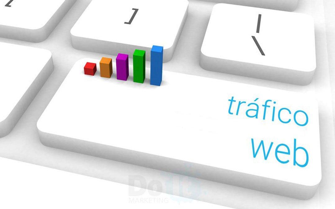 como generar tráfico web