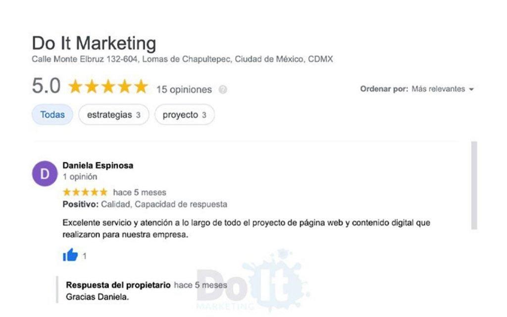 agencia de marketing testimoniales